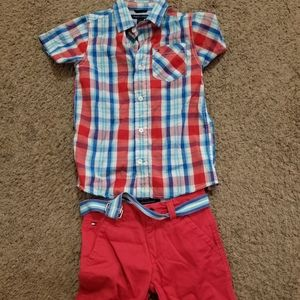 Boy shorts outfit size 5y